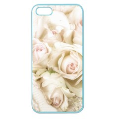 Pastel Roses Antique Vintage Apple Seamless Iphone 5 Case (color)