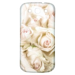 Pastel Roses Antique Vintage Samsung Galaxy S3 S Iii Classic Hardshell Back Case
