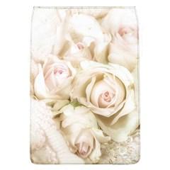 Pastel Roses Antique Vintage Flap Covers (l)