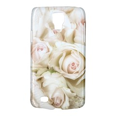 Pastel Roses Antique Vintage Galaxy S4 Active