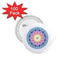 Mandala Universe Energy Om 1 75  Buttons (100 Pack)