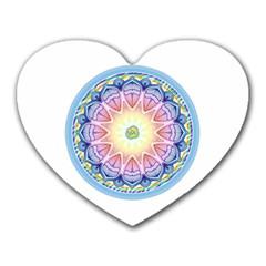 Mandala Universe Energy Om Heart Mousepads
