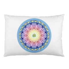 Mandala Universe Energy Om Pillow Case