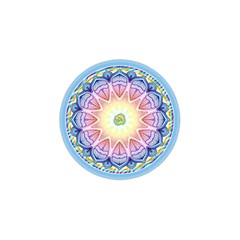 Mandala Universe Energy Om Shower Curtain 48  X 72  (small)