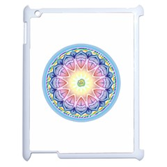 Mandala Universe Energy Om Apple Ipad 2 Case (white)
