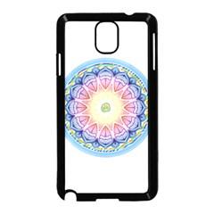 Mandala Universe Energy Om Samsung Galaxy Note 3 Neo Hardshell Case (black)