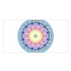 Mandala Universe Energy Om Satin Shawl