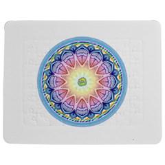 Mandala Universe Energy Om Jigsaw Puzzle Photo Stand (rectangular)