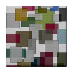 Decor Painting Design Texture Tile Coasters