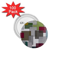 Decor Painting Design Texture 1 75  Buttons (100 Pack)