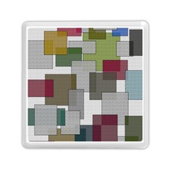Decor Painting Design Texture Memory Card Reader (square)