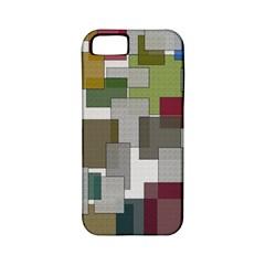 Decor Painting Design Texture Apple Iphone 5 Classic Hardshell Case (pc+silicone)