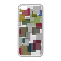 Decor Painting Design Texture Apple Iphone 5c Seamless Case (white)