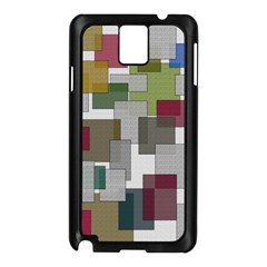 Decor Painting Design Texture Samsung Galaxy Note 3 N9005 Case (black)