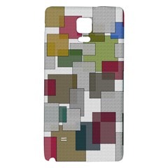 Decor Painting Design Texture Galaxy Note 4 Back Case
