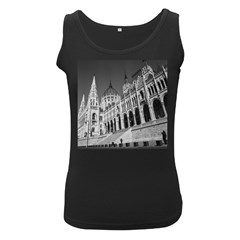 Architecture Parliament Landmark Women s Black Tank Top