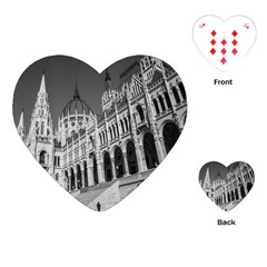Architecture Parliament Landmark Playing Cards (heart)