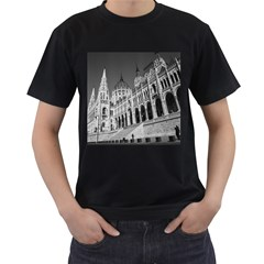 Architecture Parliament Landmark Men s T Shirt (black)