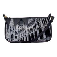 Architecture Parliament Landmark Shoulder Clutch Bags