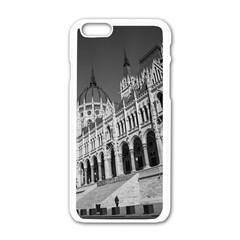 Architecture Parliament Landmark Apple Iphone 6/6s White Enamel Case
