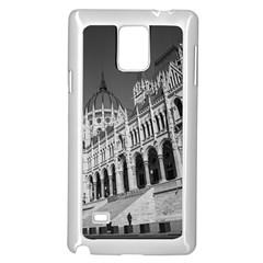 Architecture Parliament Landmark Samsung Galaxy Note 4 Case (white)