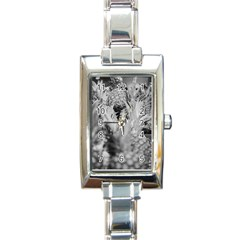 Pineapple Market Fruit Food Fresh Rectangle Italian Charm Watch