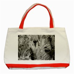 Pineapple Market Fruit Food Fresh Classic Tote Bag (red)