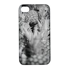 Pineapple Market Fruit Food Fresh Apple Iphone 4/4s Hardshell Case With Stand