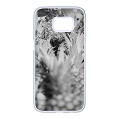 Pineapple Market Fruit Food Fresh Samsung Galaxy S7 Edge White Seamless Case