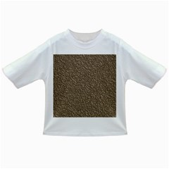 Leather Texture Brown Background Infant/toddler T Shirts