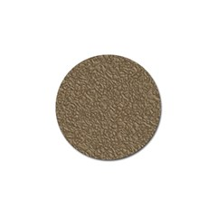 Leather Texture Brown Background Golf Ball Marker (4 Pack)