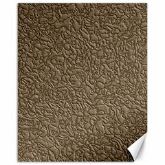 Leather Texture Brown Background Canvas 16  X 20