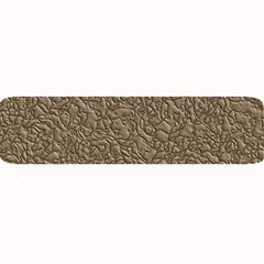 Leather Texture Brown Background Large Bar Mats