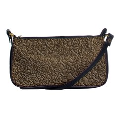 Leather Texture Brown Background Shoulder Clutch Bags