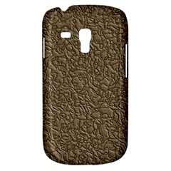 Leather Texture Brown Background Galaxy S3 Mini