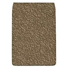 Leather Texture Brown Background Flap Covers (l)