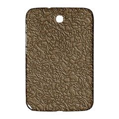 Leather Texture Brown Background Samsung Galaxy Note 8 0 N5100 Hardshell Case
