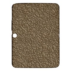 Leather Texture Brown Background Samsung Galaxy Tab 3 (10 1 ) P5200 Hardshell Case