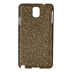 Leather Texture Brown Background Samsung Galaxy Note 3 N9005 Hardshell Case