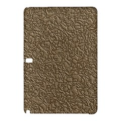 Leather Texture Brown Background Samsung Galaxy Tab Pro 12 2 Hardshell Case