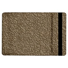 Leather Texture Brown Background Ipad Air Flip
