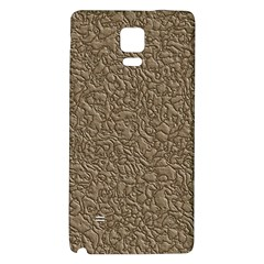 Leather Texture Brown Background Galaxy Note 4 Back Case