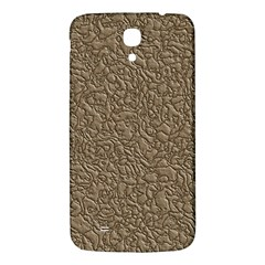 Leather Texture Brown Background Samsung Galaxy Mega I9200 Hardshell Back Case