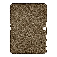 Leather Texture Brown Background Samsung Galaxy Tab 4 (10 1 ) Hardshell Case