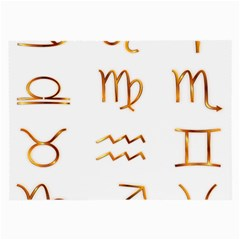 Signs Of The Zodiac Zodiac Aries Large Glasses Cloth (2 Side)