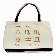 Signs Of The Zodiac Zodiac Aries Basic Tote Bag (two Sides)