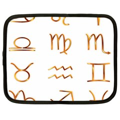 Signs Of The Zodiac Zodiac Aries Netbook Case (large)