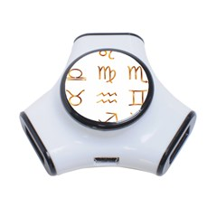 Signs Of The Zodiac Zodiac Aries 3 Port Usb Hub
