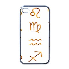 Signs Of The Zodiac Zodiac Aries Apple Iphone 4 Case (black)