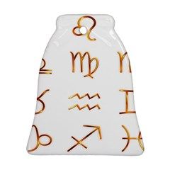 Signs Of The Zodiac Zodiac Aries Ornament (bell)